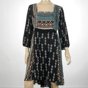 Sami & Joe -  Aztec Design Print Dress - Size 3X
